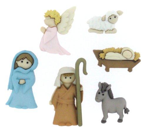 Nativity buttons