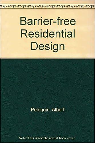 Barrier-Free Residential Design