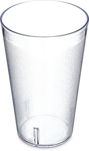 Carlisle 5532-207 Stackable Shatter-Resistant Plastic Tumbler, 32 oz, Clear (Case of (Carlisle Food Service Tumbler)