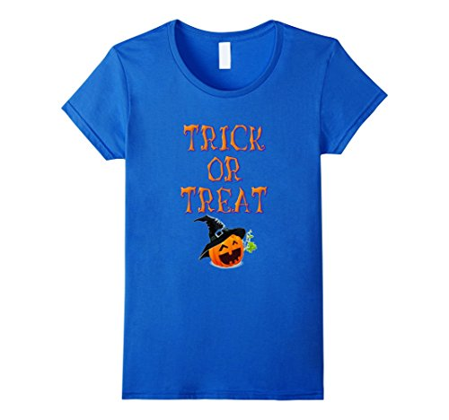 Trick Or Treat Halloween Jack O Lantern Tee