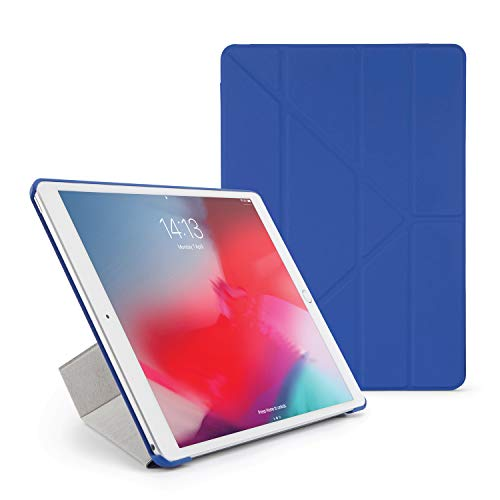 9707621606a84 PIPETTO iPad 10.5 Air/Pro 10.5 Origami Royal Blue Slim Case with 5 ...