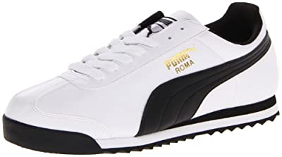 PUMA Men's Roma Basic Leather Sneaker from Puma
