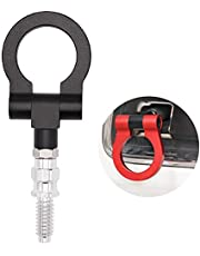 Car Refitted Front Rear Bumper Trailer Ring Eye Towing Tow Hook Kit Hook Screw On for BMW 3 Series E36 E46 E90 E91 E92 E93 318 320 323 325 328 330 335 M3 1992 to 2012 Red