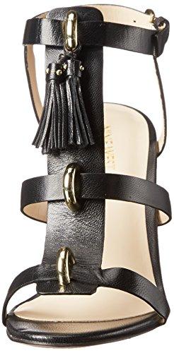 Lelunah Black West Size Leather Womens Lelunah Nine Leather HCqvI