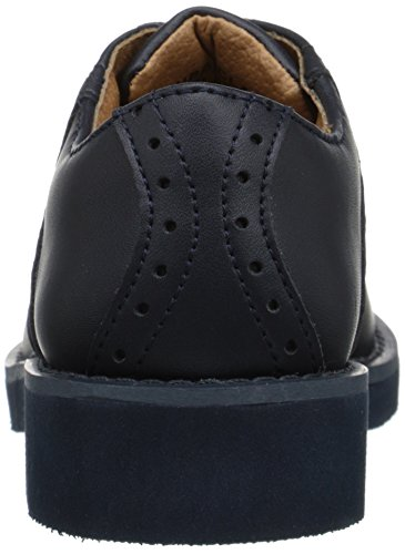 School Issue Upper Class 7300 Saddle Shoe (Toddler/Little Kid/Big Kid) Navy
