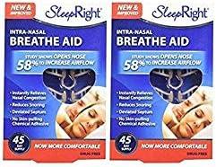 SleepRight Intra Nasal Breathe Aids Breathing