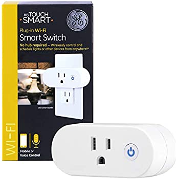 Ge Mytouchsmart Wifi Smart Indoor Plug In Mini Outlet On
