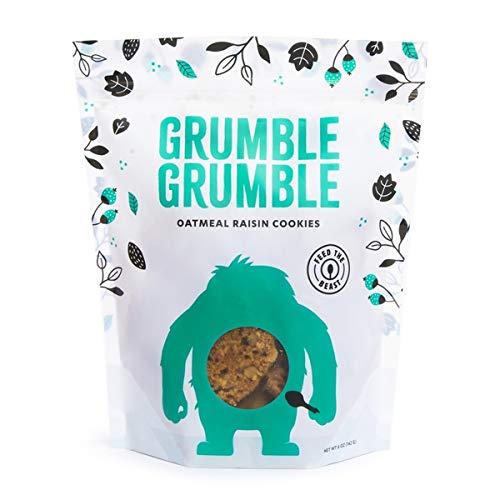 Grumble Grumble, Cookies - Oatmeal Raisin, 6 oz (Pack of 2) by Steve's PaleoGoods