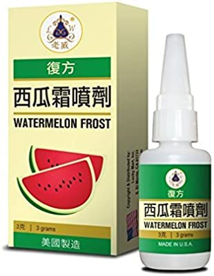 Watermelon Frost Spray Herbal Supplement Helps For Sore Throat Toothaches  Mouth Ulcers Swollen Aching Gums 3 Grams Made In USA