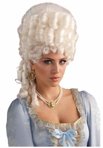 Forum Novelties Women's Marie Antoinette Wig Adult Costume Accessory, Platinum Blonde, One -