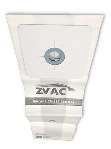 - ZVac 15 Nutone CV-391 Vacuum Bags Generic Part Replaces Part Numbers 68703-6, 68703 Fits: PP600, CV353, CV750, CV352, PP650, CV450, PP500, CV352W, CV653, CV350.