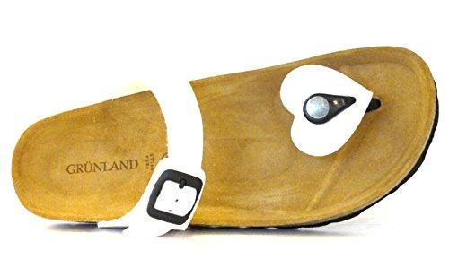 Bianco Grunland S Sara Donna 38 CB0032 Ciabatta X1fqR41