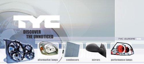 KG 3100128 Au/ßenspiegel Links TYC DAPA GmbH /& Co