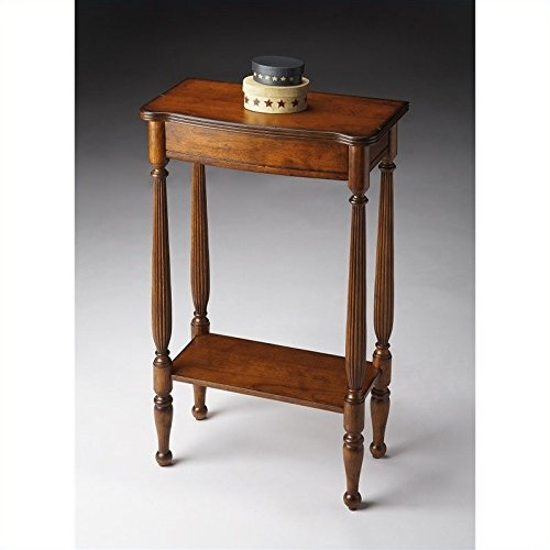 BUTLER 3011011 WHITNEY ANTIQUE CHERRY CONSOLE TABLE