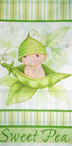 [Creative Converting - Sweet Pea Plastic Tablecover] (Pea Costumes)