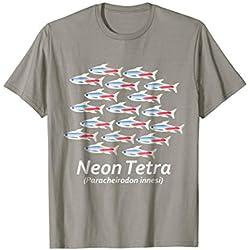 Schooling Tropical Community Fish, Aquarium Tetras, T-Shirt