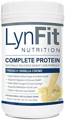Vanilla Creme Metabolic Boosting Complete Protein Shake – 100 Pure Whey Protein 2 lb. Container
