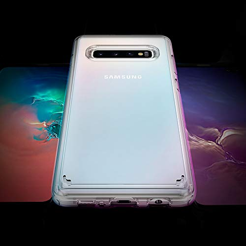 Spigen Ultra Hybrid Designed for Samsung Galaxy S10 Plus Case (2019) - Crystal Clear
