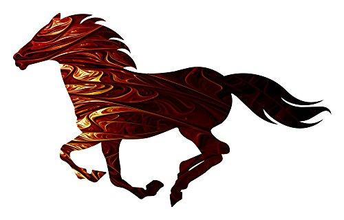 Horse Metal Art - Mystery Running Horse