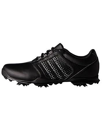 adidas W adipure Tour Golf Schuhe, Damen, Damen, W Adipure Tour, Schwarz/Silber, 40.6
