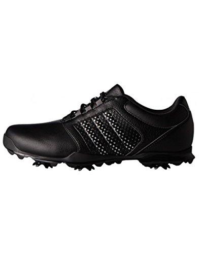 the latest b6d44 2f089 adidas W Adipure Tour Golf Schuhe, Damen 34 SchwarzSilber
