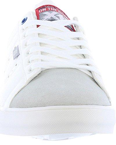 XTI Scarpe Sport per Uomo 46452 C Blanco-Rojo Tienda De Descuento Envío Libre Compra Barato xi4xCHcxul