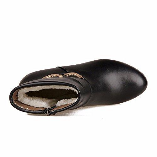 Scarpe Grandi Hxvu56546 Autunno Stivali Di L'inverno Di E Moda Artificiali Cotone Imbottiti Nero Dimensioni Scarpe Cotone EwrY4CPqxY