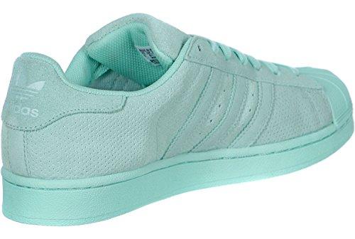 Adidas Superstar Mono Pack Uomo Sneaker Blu turquesa