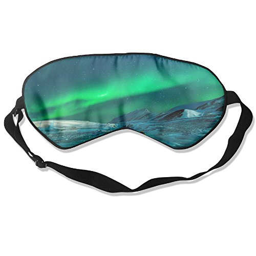 Price comparison product image ZhiqianDF Antarctic Light Natural Viewing Landscape Brilliant Aurora Sky Universe Goggles Sleep Shading Breathable Cute Eyes Relieve Eye Fatigue
