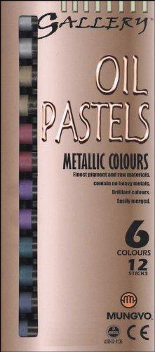 Pastels Metallic Oil (Gallery Oil Pastels)