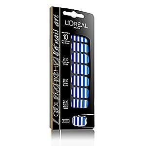 L'Oréal Paris Color Riche Nail Art 5 French Marinie - pegatinas para uñas (Azul, French Marinie)