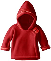 Widgeon Baby Girls\' Warm Plus Fleece Jacket, Red, 6 Months