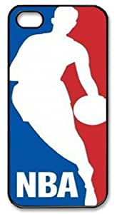 icasepersonalized Personalized Protective Case For Iphone 5/5S Cover NBA logo