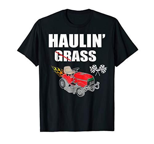 Racing Lawn Mower T Shirt Lawn mower Racing 2