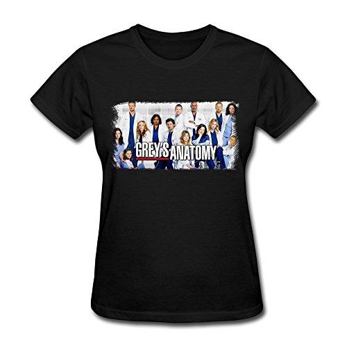 Women's Greys Anatomy Cast T-shirt XXL
