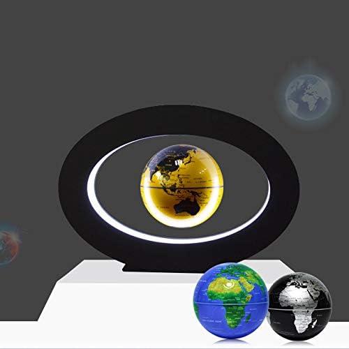 Globus Magnetic Magnetische Levitatie Drijvende Wereld Nieuwigheid Electronic Met LED-Licht Van Binnenlandse Zaken Toon Kerstcadeau Verjaardagscadeau Blue,1 2