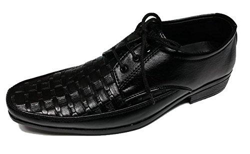 SHUMAXX , Chaussures de ville à lacets pour homme noir noir