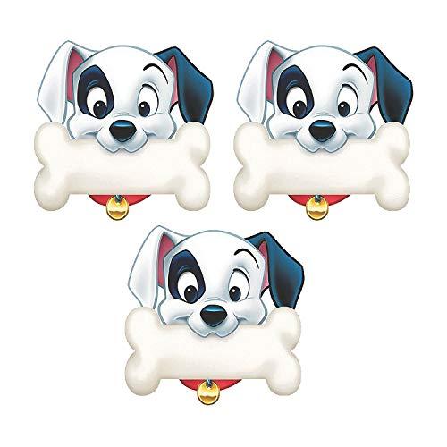 Fun Express - 101 Dalmatians Dog Bone Cutouts - Educational - Classroom Decorations - Bulletin Board Decor - 36 Pieces