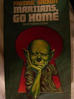 book cover of Martians, Go Home