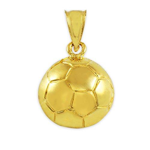 10 ct 471/1000 Football Or Sport- Pendentif