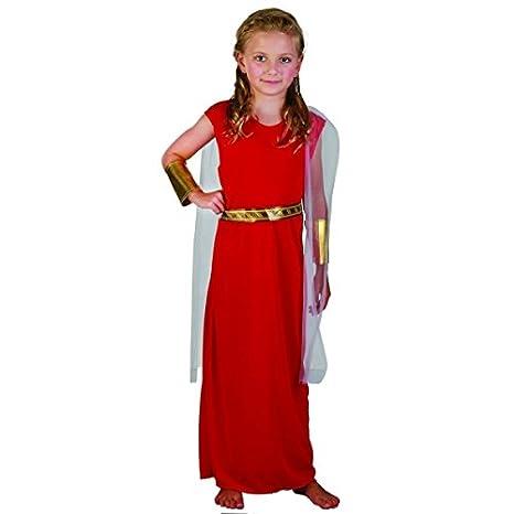 Costume Da Antica Romana Per Bambina 46 Anni 104116 Amazonit