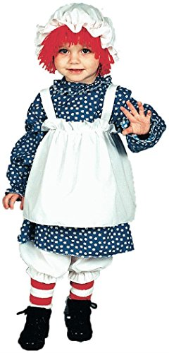 Raggedy Ann Toddler / Child Costume (Infant - Child Clothes Size 1-2)