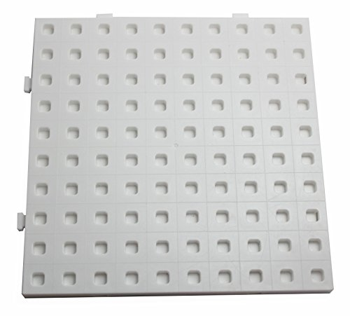 BASEBOARD ONLY – For use with 2cm Linking cube blocks – Early math and building toy manipulative