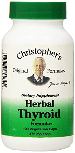 Dr. Christopher's Formula Herbal Thyroid, 100 Count (Pack of 3)