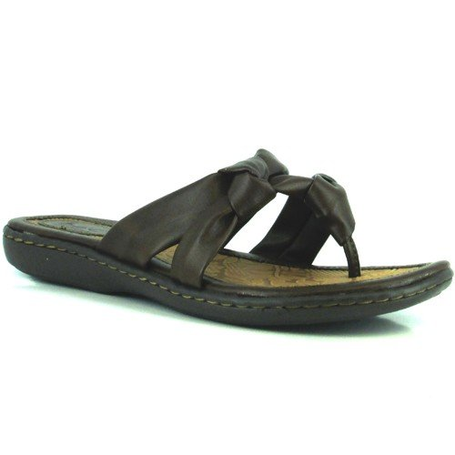 Women's B.O.C, Sequin Thong Sandal BROWN 7 M