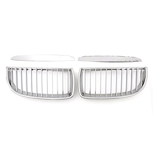E90 E91 Grill Chrome Front Kidney ABS Plastic Grille Grill For BMW 3 Series BMW E90 E91 2005-2007