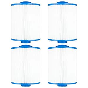 "Clear Choice CCP455 Pool Spa Replacement Cartridge Filter for Artesian Spa Filter Media, 6-3/4"" Dia x 8"" Long, [4-Pack]"