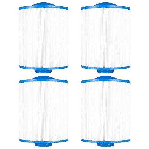 Clear Choice Pool Spa Filter 6.75 Dia x 8.00 in Cartridge Replacement for Artesian Spa Baleen AK-90161, [4-Pack]