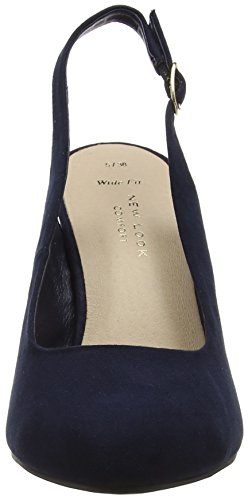Wide Reggie Femme Bleu Look Bout New Escarpins Fermé Foot Marine CgZ5tfqF