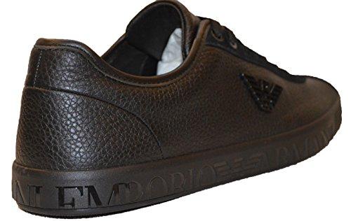 Emporio uomo Black Sneaker Armani Emporio uomo Sneaker Armani BUnqZwx